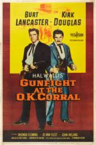 Gunfight at the O.K. Corral - 27 x 40 Movie Poster - Style H