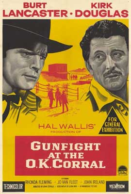 Gunfight at the O.K. Corral - 11 x 17 Movie Poster - Style B
