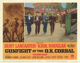 Gunfight at the O.K. Corral - 11 x 14 Movie Poster - Style H