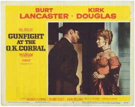 Gunfight at the O.K. Corral - 11 x 14 Movie Poster - Style B
