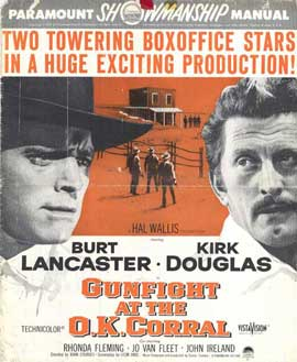 Gunfight at the O.K. Corral - 11 x 14 Movie Poster - Style C