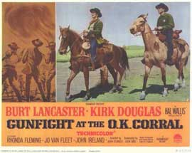 Gunfight at the O.K. Corral - 11 x 14 Movie Poster - Style K