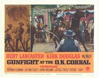 Gunfight at the O.K. Corral - 11 x 14 Movie Poster - Style F