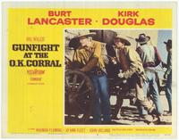 Gunfight at the O.K. Corral - 11 x 14 Movie Poster - Style E