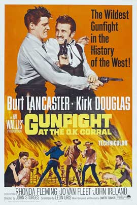 Gunfight at the O.K. Corral - 27 x 40 Movie Poster - Style A