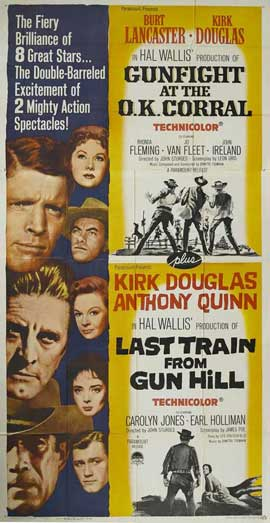 Gunfight at the O.K. Corral - 27 x 40 Movie Poster - Style D