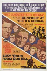 Gunfight at the O.K. Corral - 27 x 40 Movie Poster - Style E