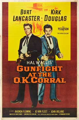 Gunfight at the O.K. Corral - 11 x 17 Movie Poster - Style I