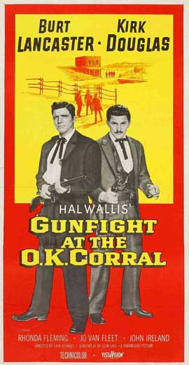 Gunfight at the O.K. Corral - 14 x 36 Movie Poster - Insert Style A