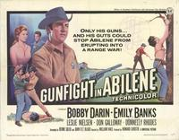 Gunfight in Abilene - 22 x 28 Movie Poster - Half Sheet Style A