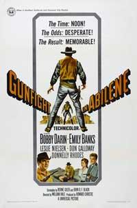 Gunfight in Abilene - 27 x 40 Movie Poster - Style B