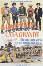Gunfighters of Casa Grande - 11 x 17 Movie Poster - Style B