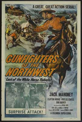 Gunfighters of the Nothwest - 27 x 40 Movie Poster - Style A