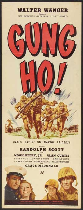 'Gung Ho!': The Story of Carlson's Makin Island Raiders - 14 x 36 Movie Poster - Insert Style A
