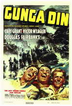 Gunga Din - 27 x 40 Movie Poster - Style A