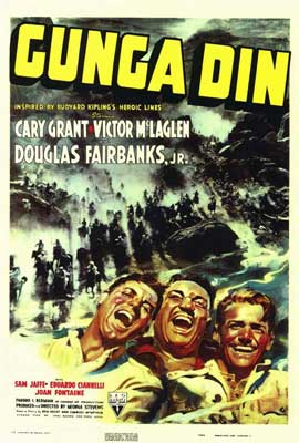 Gunga Din - 11 x 17 Movie Poster - Style A