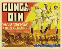 Gunga Din - 11 x 14 Movie Poster - Style H