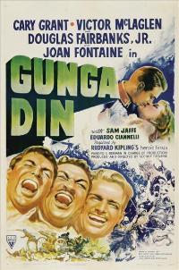 Gunga Din - 11 x 17 Movie Poster - Style E