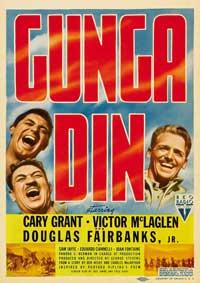 Gunga Din - 27 x 40 Movie Poster - Style B