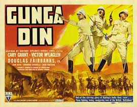 Gunga Din - 22 x 28 Movie Poster - Half Sheet Style A