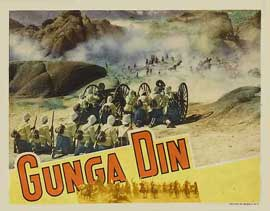 Gunga Din - 11 x 14 Movie Poster - Style C