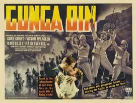 Gunga Din - 22 x 28 Movie Poster - Half Sheet Style B