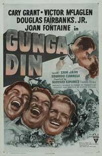 Gunga Din - 27 x 40 Movie Poster - Style C