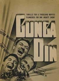 Gunga Din - 11 x 17 Movie Poster - Style G