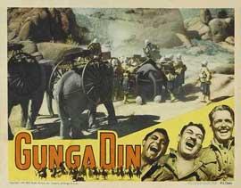 Gunga Din - 11 x 14 Movie Poster - Style E