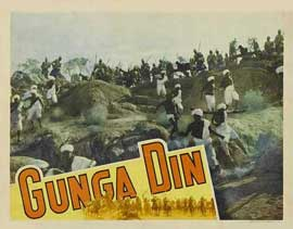 Gunga Din - 11 x 14 Movie Poster - Style F