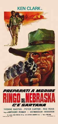 Gunman Called Nebraska - 13 x 28 Movie Poster - Italian Style A