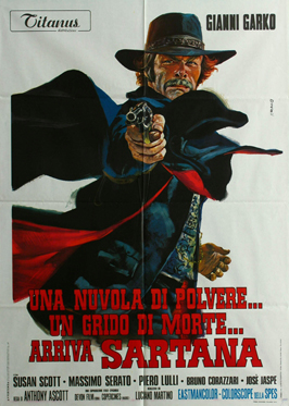 Gunman in Town - 27 x 40 Movie Poster - Italian Style A