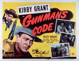 Gunman's Code - 11 x 14 Movie Poster - Style A