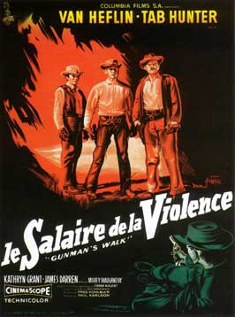 Gunman's Walk - 11 x 17 Movie Poster - French Style A
