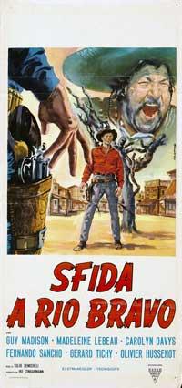 Gunmen of Rio Grande - 13 x 28 Movie Poster - Italian Style A