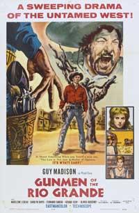Gunmen of Rio Grande - 27 x 40 Movie Poster - Style A