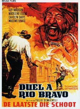 Gunmen of Rio Grande - 11 x 17 Movie Poster - Belgian Style A