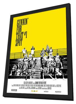 Gunnin' for That #1 Spot - 11 x 17 Movie Poster - Style A - in Deluxe Wood Frame