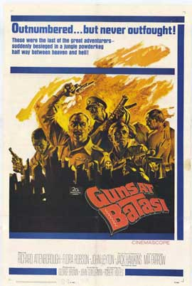 Guns at Batasi - 11 x 17 Movie Poster - Style A