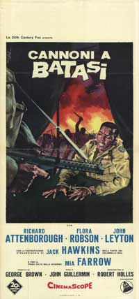 Guns at Batasi - 13 x 28 Movie Poster - Italian Style A