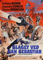 Guns for San Sebastian - 11 x 17 Movie Poster - Danish Style A