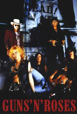 Guns N' Roses - 11 x 17 Music Poster - Style A
