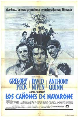 Guns of Navarone - 11 x 17 Movie Poster - Spanish Style A
