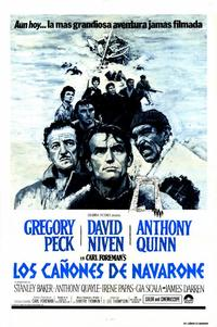 Guns of Navarone - 27 x 40 Movie Poster - Spanish Style A