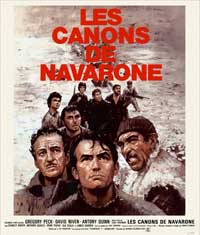 Guns of Navarone - 11 x 17 Movie Poster - French Style A