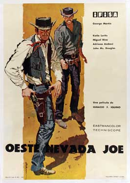 Guns of Nevada - 27 x 40 Movie Poster - Spanish Style A