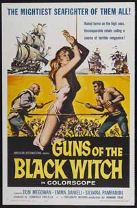 Guns of the Black Witch - 11 x 17 Movie Poster - Style A