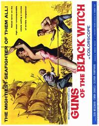 Guns of the Black Witch - 22 x 28 Movie Poster - Half Sheet Style A