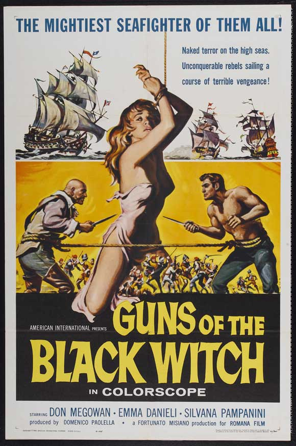Guns of the Black Witch movie