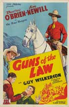 Guns of the Law - 11 x 17 Movie Poster - Style A
